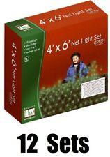 12 Holiday Wonderland 48957-88 150 ct 4' x 6' Green Net Shrub Christmas Lights