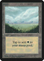 Plains (V.1) - ALPHA Edition  - Old School - MTG Magic The Gathering
