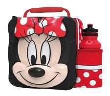 Disney 3D Minnie Mouse Sac Repas Isotherme / Boite avec Bouteille