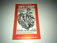 BURY ME AN ANGEL Vintage Movie Pressbook Motorcycle Gang Bikers Bad Girls Hell's