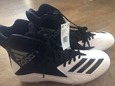 adidas Freak High Wide Cleat - Men's Football Size 14 White & Black Db0861 New