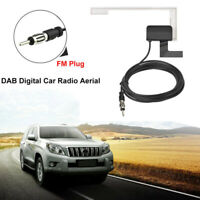 Universal DAB DAB+ Digital Car Radio Aerial Antenna Glass Mount FM(DIN) Plug Hot