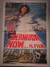 Manifesto BERMUDA NOW IL FILM THE BERMUDA TRIANGLE '78 FILM DOCUMENTARIO MAGI 2F