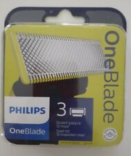 1 Lot De 3 Lames Oneblade neuves neuf pour RASOIR Philips Recharge One Blade
