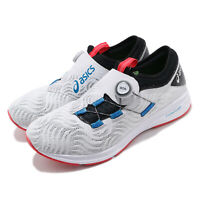 Asics Dynamis 2 Grey Black White Blue Red Men Running Shoes Sneaker 1011A006-020