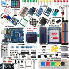 Ultimate uno R3 Starter Kit para Arduino SPI OLED Bluetooth LCD1602 DHT11