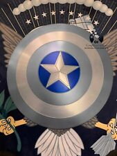 "60CM/23.5"" Captain America Shield STEALTH 1:1  Full Aluminum Metal+ FREE STAND"