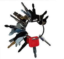 Keyman 16 Heavy Construction Equipment Ignition Key Set Cat Case Komatsu Jd Jcb