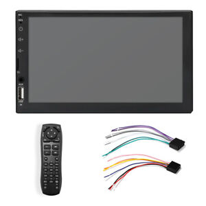 7in 2DIN Touch Screen Bluetooth USB AUX Car Stereo Audio Radio MP5 Player WINCE