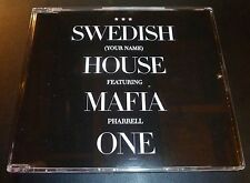 "SWEDISH HOUSE MAFIA ""One"" ft Pharrell (CD Maxi-Single 2010) 8-Tracks *EXCELLENT*"