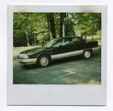 PHOTO ANCIENNE POLAROÏD VOITURE AMÉRICAINE USA AUTO AUTOMOBILE 1990