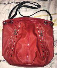 Kathy Van Zeeland Large Red Tote Bag Gently Used