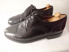 """Chaussures Homme lacets Noir  Années 1980   """"SIOUX""""   -  T.40,5"""