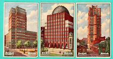 Germany ERDAL KWAK BUILDING lot of 5 Vintage cards 235
