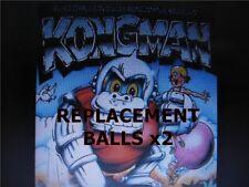 Replacement Metal Steel Ball x2 / Ballbearing / Marble  Vintage Tomy Kongman 80s