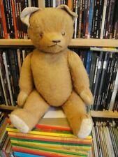 l'un des premiers ours steiff environs 60 cm avec boite a l'interieur