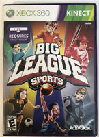 Big League Sports for Kinect - XBOX 360 Requires Kinect Sensor ACTIVISION