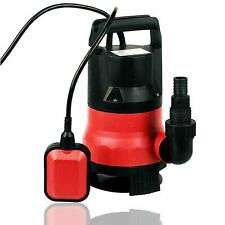 1/2HP Clean Dirty Water Submersible Pump 400W Pump for Swimming Pool Drain Red
