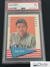 1961 Fleer #75 Babe Ruth PSA NM 7,  *SEWALL*