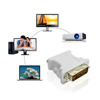 DVI-I 24+1 Female to VGA SVGA HD15 Male Video Card Monitor LCD Converter Adapter