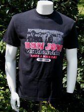 BON JOVI & NICKLEBACK 2006 PGH STEELERS SUPERBOWL CELEBRATION  T- Shirt Medium
