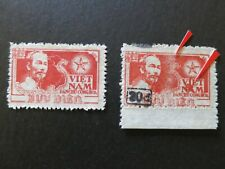 N.Vietnam1954 - President Ho Chi Minh / Surcharged 20 d - COLOR ERROR - MNH