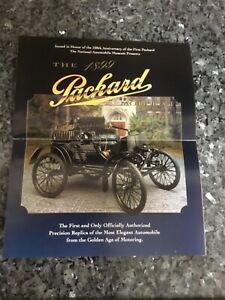 Franklin Mint the 1899 Packard Promotional  brochure