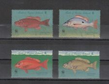 TIMBRE STAMP 4 ILES TURKS & CAICOS Y&T#1277-80 POISSON FISH NEUF**/MNH-MINT ~D03