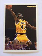 1994-95 Fleer NBA Basketball Card - Los Angeles Lakers #114 James Worthy