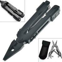 13-In1 Outdoor Survival Edelstahl Multi Tool Zange tragbare kompakte Tasch O4F0