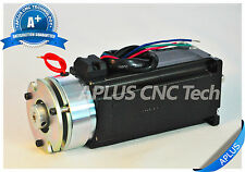 NEMA 23 Stepper Motor with Brake, 396oz-in 112mm 4.2A, 1.8degree, 4wires