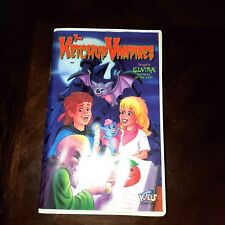 The Ketchup Vampires Narrated by Elvira Mistress of the Dark VHS Tape Just Kids