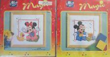 Vervaco Disney Magic counted cross stitch kits