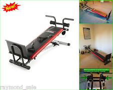 Weider Exercise Fitness Adjustable Rowing Machine Bench Ultimate Body Works Gym