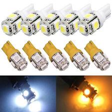 5/10pcs T10 5-SMD 5050 Xenon LED Light bulbs 192 168 194 W5W 2825 158 Car Lights