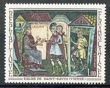 STAMP / TIMBRE FRANCE NEUF  N° 1588 **  ART TABLEAU / ABBAYE DE SAINT SAVIN