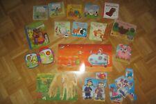 15x Baby Kinder Bücher Buch Lernbuch Pferde Puzzle Puzzel Spiel Spiele Paket