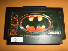 BATMAN Nintendo Family computer software FC Famicom NES 782