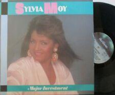 "SYLVIA MOY ~ Major Investment ~ 12"" Single PS"