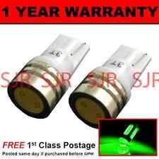 W5W T10 501 Xenon VERDE ad Alta Potenza LED Luce Laterale Lato Lampadine X2 sl100705