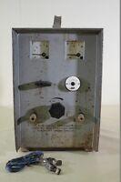 DDR Batterieladegerät 12V 24V Ladegerät Gleichrichter Ladestrom regelbar
