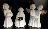Three Department 56 Winter Silhouette A Choir of Angels Votive Holders