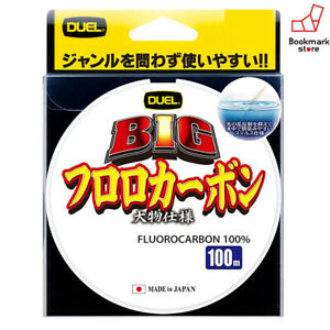 NEW Duel BIG Fluorocarbon 100m 4lb #1 Clear 0.165mm Line H3837 Japan