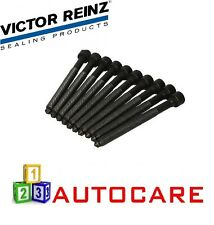 Victor Reinz Cylinder Head Screw Bolts 120mm Polydrive For Audi VW 1.8T