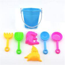 7 teile / satz Sandstrand Spielen Spielzeug Schaufel Rake Kit Formen Werkzeug