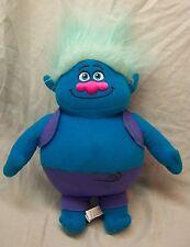 """Trolls BLUE BIGGIE TROLL 12"""" Plush STUFFED ANIMAL Toy"""