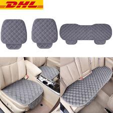 3 tlg Plüsch Auto Sitzauflage Autositzauflage für alle PKW Sitze Aus DE Stock