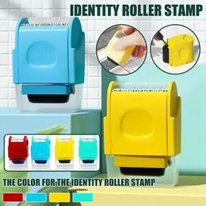 3x Refill Ink Black Ink for Identity Guard Theft Protection Roller Stamps Black