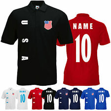 USA WM 2018 Sweat Jacke Trikot Name Nummer