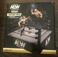 AEW All Elite Wrestling Action Ring Toy. Unrivaled Collection. BRAND NEW IN HAND